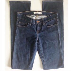 {J Brand} Ink Dark Wash Straight Leg Jeans